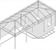 Summerhouse Sophia 3D