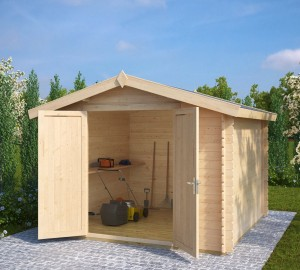 Andy-XL-Wooden-Storage-Shed-10'x10'-8m²-28mm-3-x-3-m