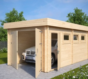 diy-wooden-garage-c-with-double-doors