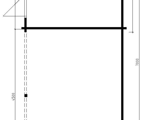 Autokatos A 21m² / 3,5 x 7 m / 70mm