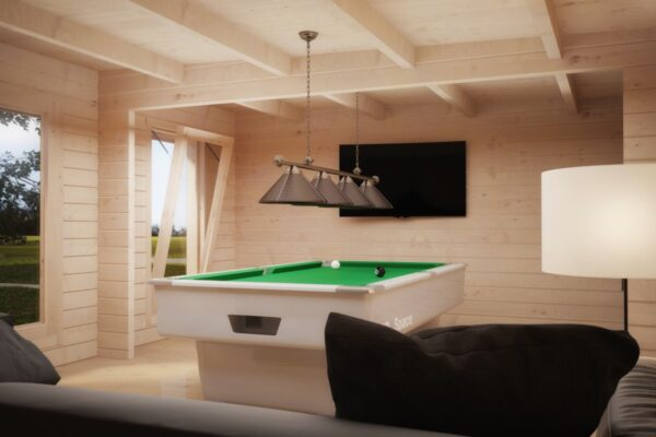 Pihamökki Hansa Billiards Room 24m² / 8 x 5 m / 50mm